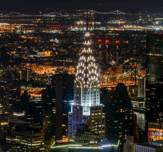 Chrysler Building at New York
