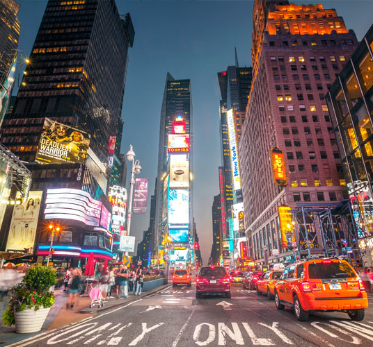 Times Square at New York
