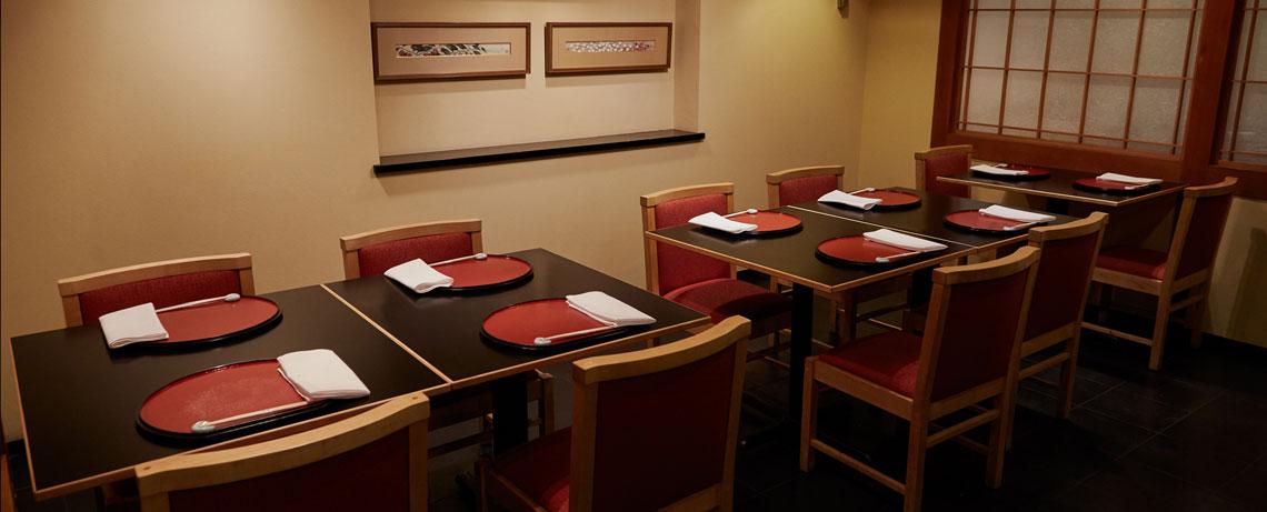 Hakubai Japanese Restaurant at The Kitano Hotel New York Hotel