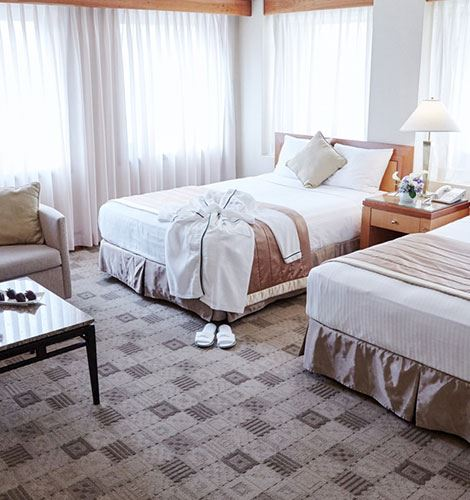 Guest Room of The Kitano Hotel New York Hotel