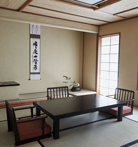 Tatami Suite in The Kitano Hotel New York Hotel