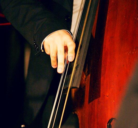 Live Jazz in New York Hotel