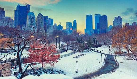 Autumn - Winter at New York Hotel