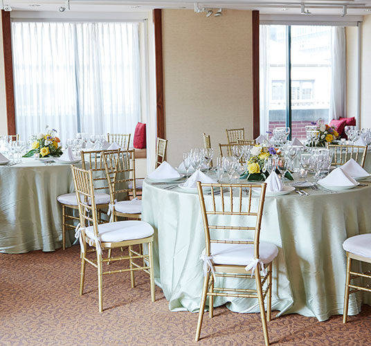 Penthouse Banquet Room in The Kitano Hotel New York Hotel