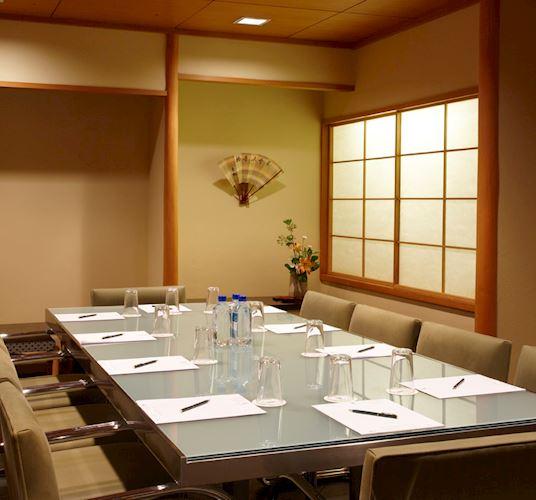 Tea Room at The Kitano Hotel New York Hotel