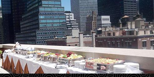 Sizzlin' BBQs at The Kitano Hotel Penthouse Terrace
