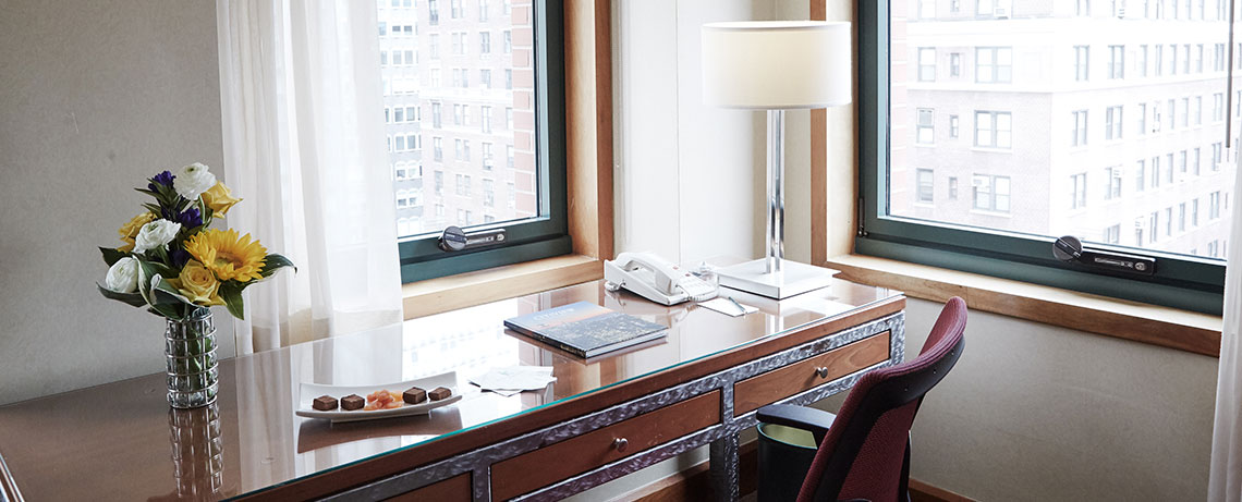 Guest Room in The Kitano Hotel New York Hotel