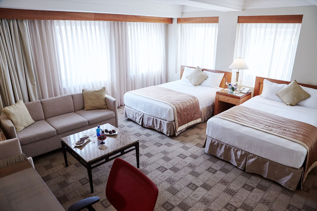 Premier Two Double Beds in The Kitano Hotel New York Hotel