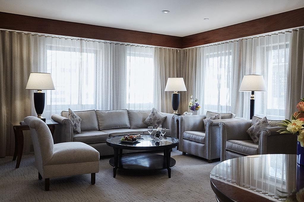 Accommodations at The Kitano Hotel New York Hotel