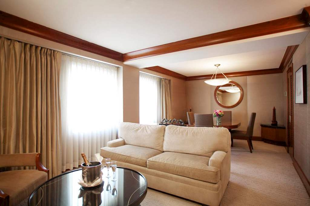 Executive Suite 5 at The Kitano Hotel New York Hotel