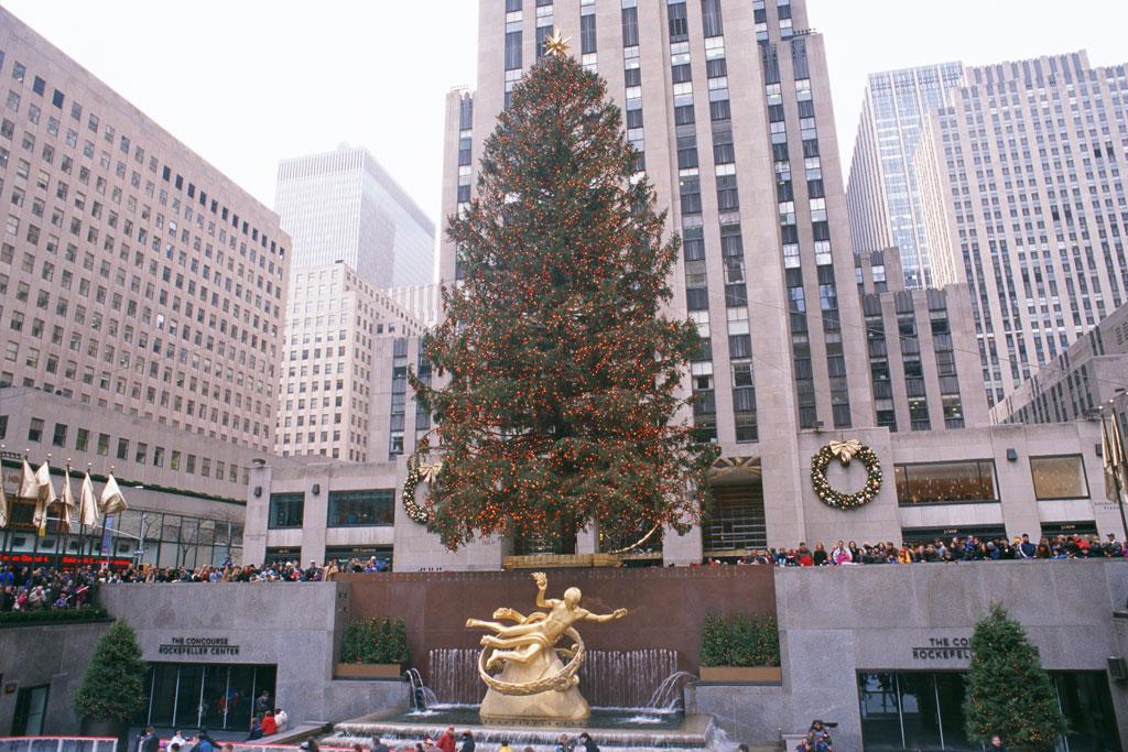 Rockefeller Center at New York