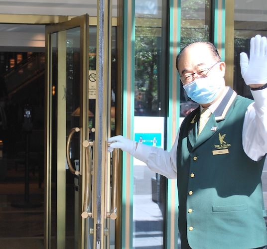 Jack Welcoming your back toThe Kitano Hotel New York Hotel