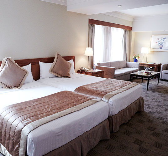 Junior Suite Two Double Beds in The Kitano Hotel New York Hotel